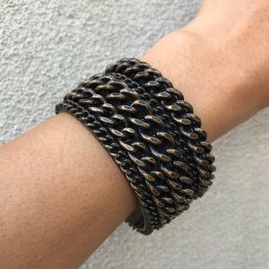 J. Crew Chain Cuff Bracelet